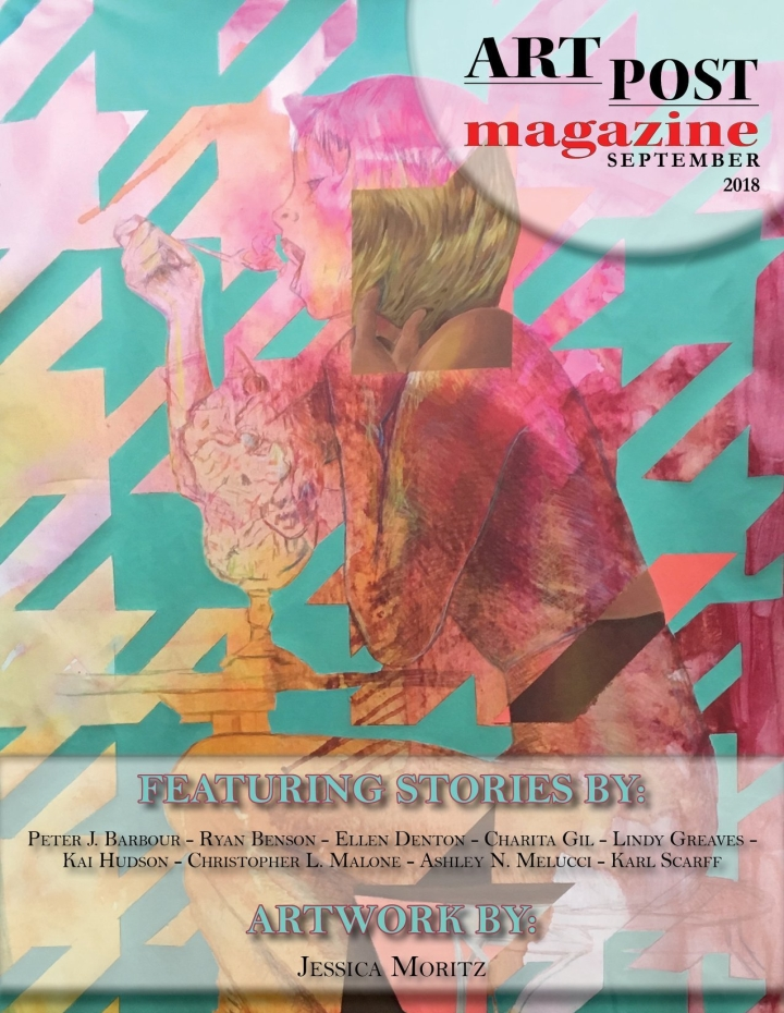 The cover of ARTPOST magazine September 2018 Issue